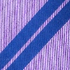 Purple Silk Blackwater Extra Long Tie