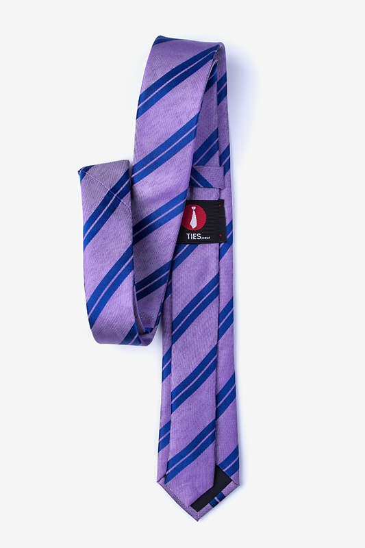 Blackwater Purple Skinny Tie Photo (1)