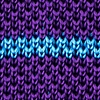 Purple Silk Briton Stripe Knit Tie