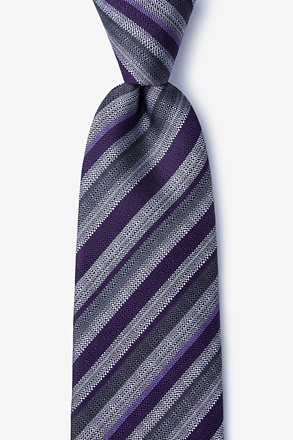 Carn Purple Extra Long Tie