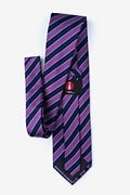 Fane Purple Extra Long Tie Photo (1)