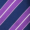 Purple Silk Hainan Skinny Tie