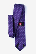 Lagan Purple Extra Long Tie Photo (1)