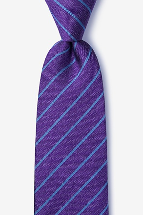 Lagan Purple Extra Long Tie