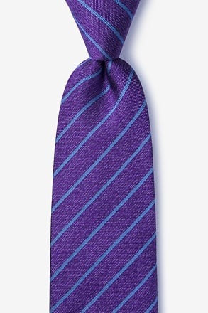 _Lagan Purple Extra Long Tie_