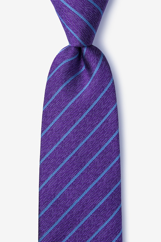 Lagan Purple Extra Long Tie Photo (0)
