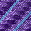 Purple Silk Lagan Skinny Tie