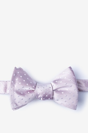 Misool Purple Self-Tie Bow Tie