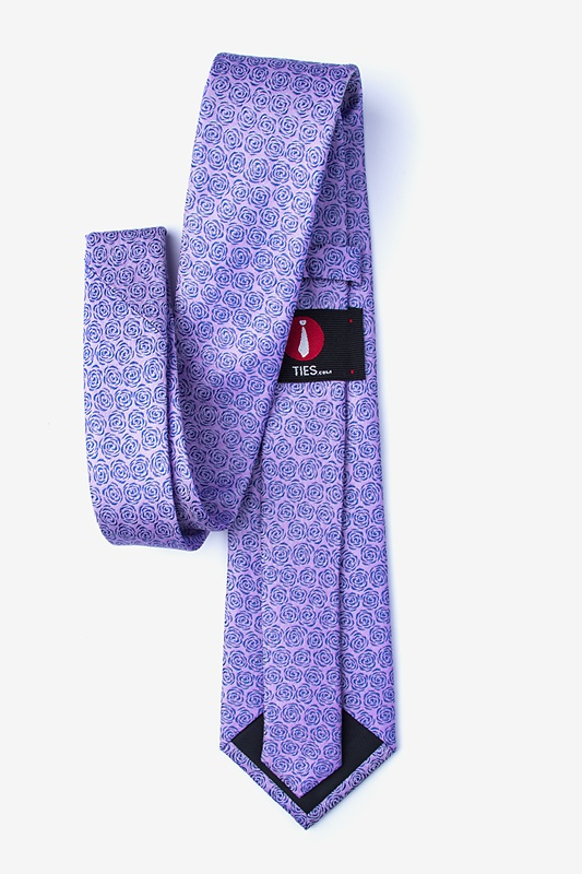 Rainy Purple Tie Photo (1)