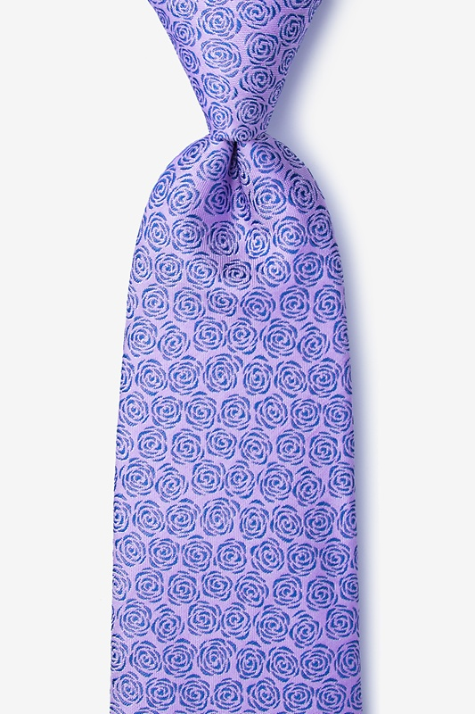Rainy Purple Tie Photo (0)