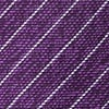 Purple Silk Robe Skinny Tie