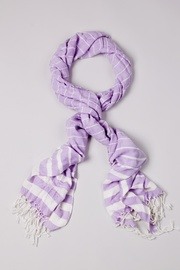 Purple Viscose Suzanna Scarf