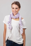 Suzanna Purple Scarf by Scarves.com
