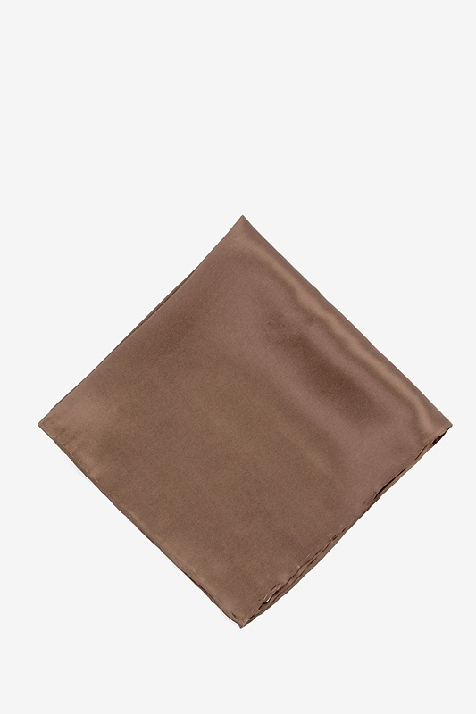 Raw Umber Pocket Square Photo (0)