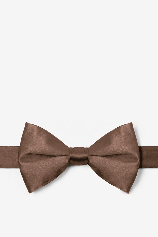Raw Umber Pre-Tied Bow Tie Photo (0)