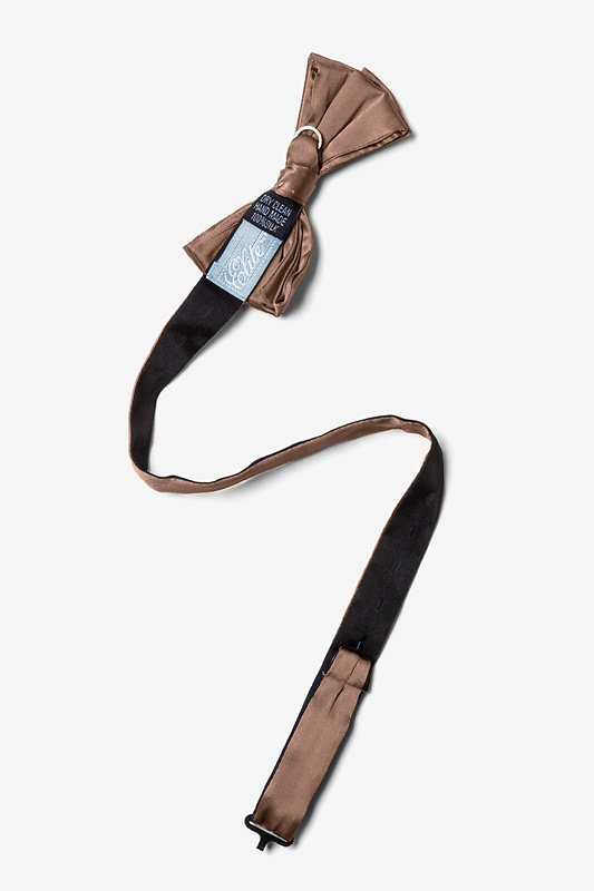 Raw Umber Pre-Tied Bow Tie