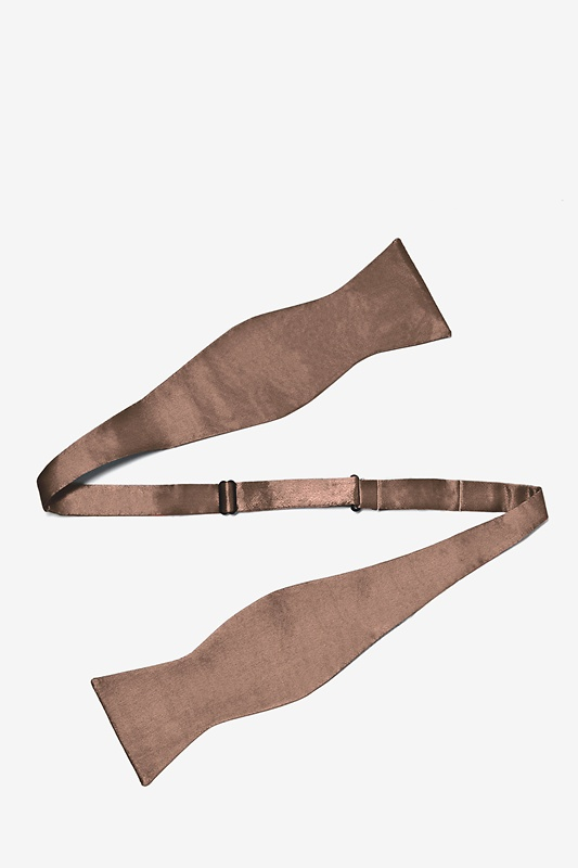 Raw Umber Self-Tie Bow Tie Photo (1)