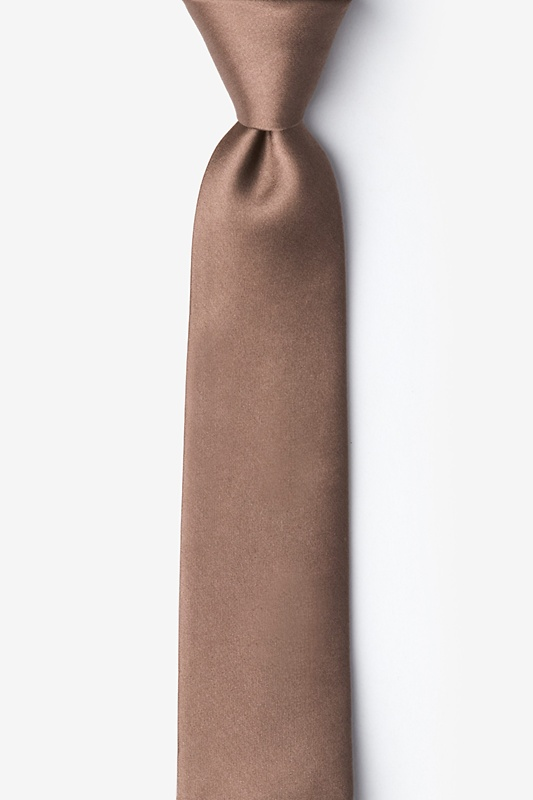 Raw Umber Tie For Boys