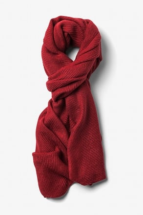 Red Sheffield Scarf