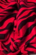 Zebra Print Red Pashmina by Scarves.com