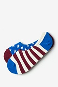 Americana No-Show Sock Photo (0)