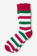Christmas Stripe Sock Photo (0)