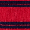 Red Carded Cotton Culver Stripe Sock