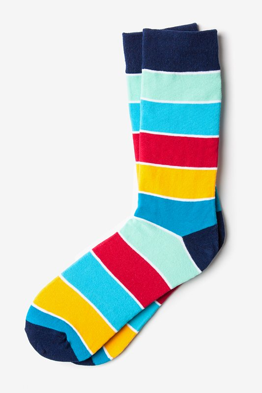 Cypress Stripe Sock