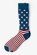 All-American Red Sock
