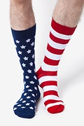 Stars & Stripes Sock Photo (1)