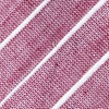 Red Cotton Ash Extra Long Tie