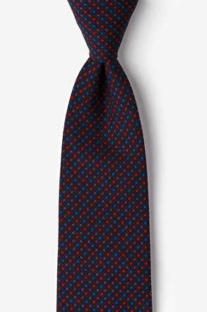 Ashland Red Extra Long Tie