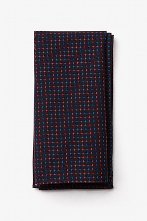 Ashland Red Pocket Square