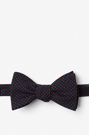 _Ashland Red Self-Tie Bow Tie_