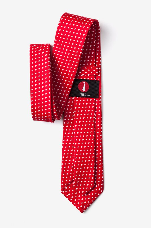 Bandon Red Extra Long Tie