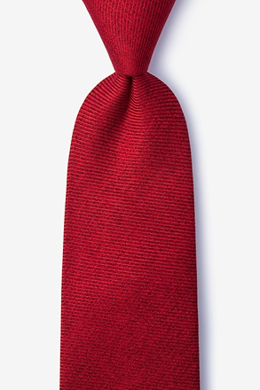 _Beau Red Tie_