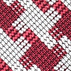 Red Cotton Buckeye Thick Pocket Square