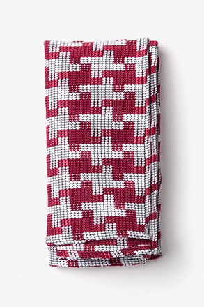 Buckeye Thick Pocket Square