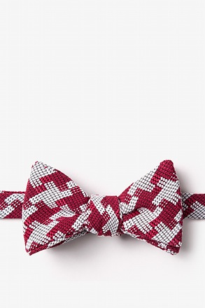 Buckeye Thick Self-Tie Bow Tie