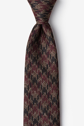 Chandler Red Extra Long Tie