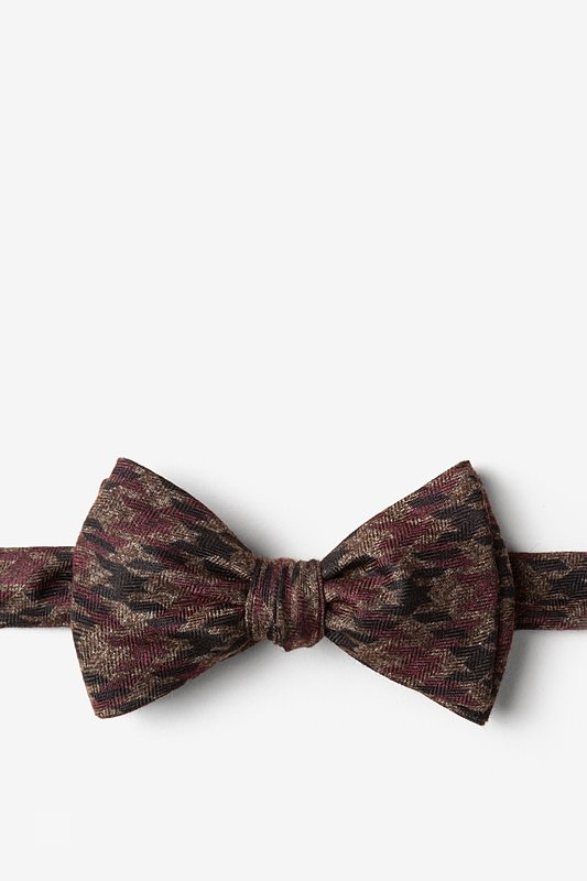 Chandler Red Self-Tie Bow Tie Photo (0)
