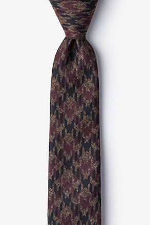 _Chandler Red Skinny Tie_