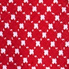 Red Cotton Descanso Bow Tie