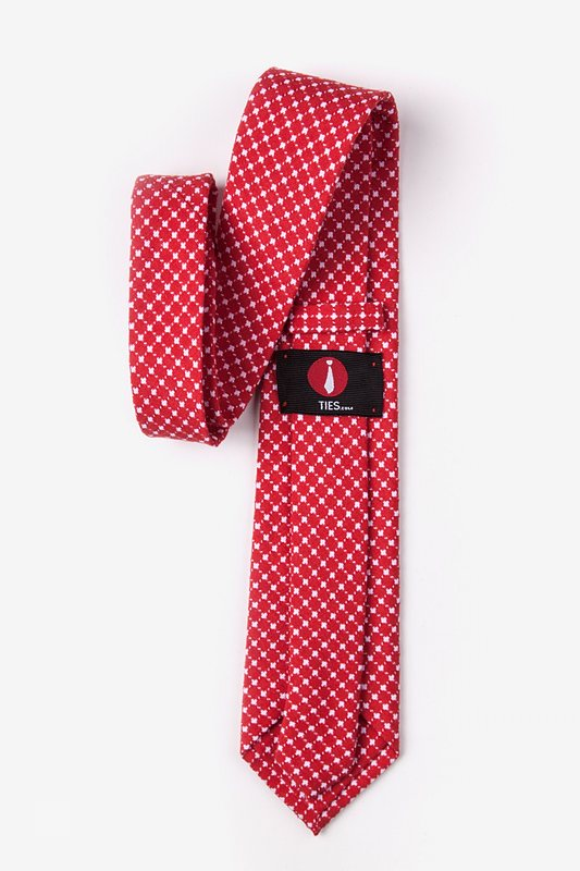descanso Red Extra Long Tie