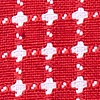 Red Cotton Descanso Pocket Square