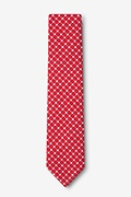 Descanso Red Skinny Tie Photo (1)