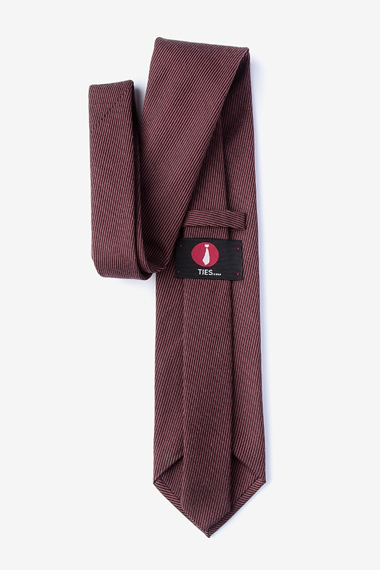 Dover Red Extra Long Tie Photo (1)