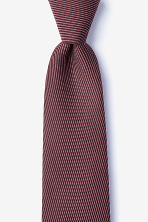 Dover Red Extra Long Tie
