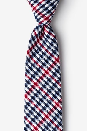 Encinitas Red Extra Long Tie