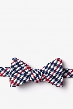 _Encinitas Red Self-Tie Bow Tie_